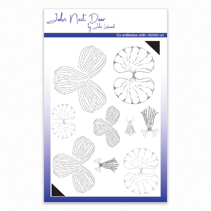 John Next Door Clear Stamp - Orchid - JND062