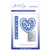 John Next Door Heart Die Collection - Butterfly Heart (4pcs)