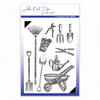 John Next Door Stamps - Garden Tools - JND085