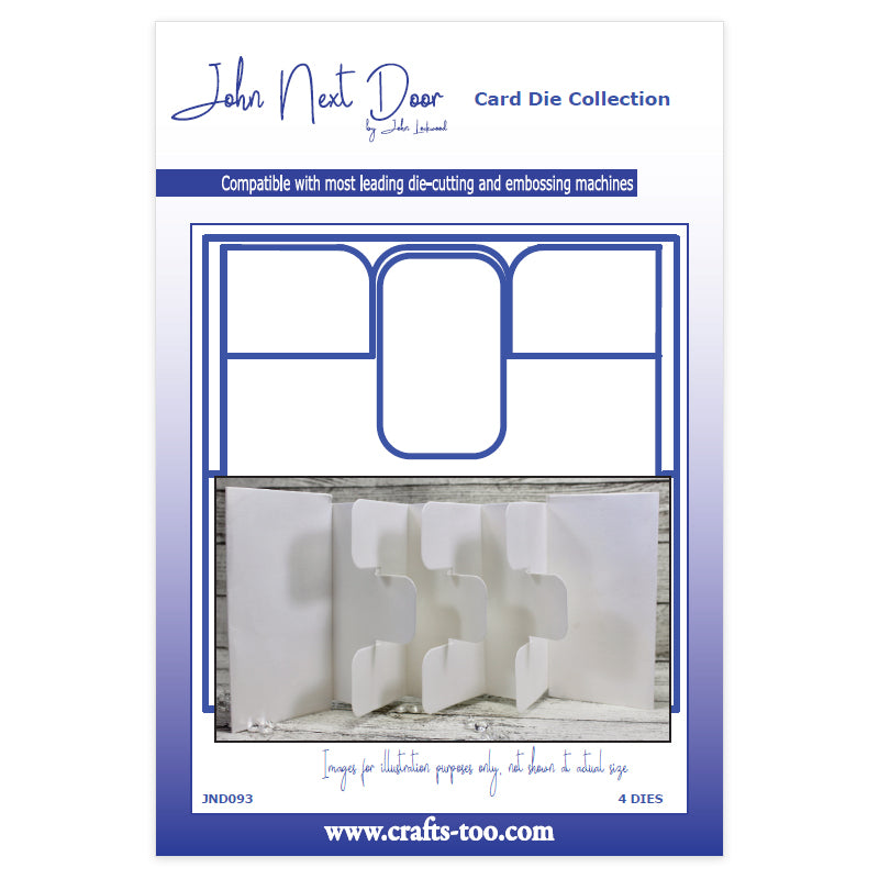 John Next Door Die - Card Collection - Tag Card Small (4pcs) - JND093