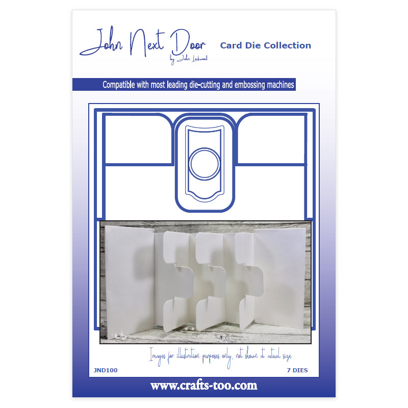 John Next Door Die - Card Collection - Tag Card Large (7pcs) - JND100