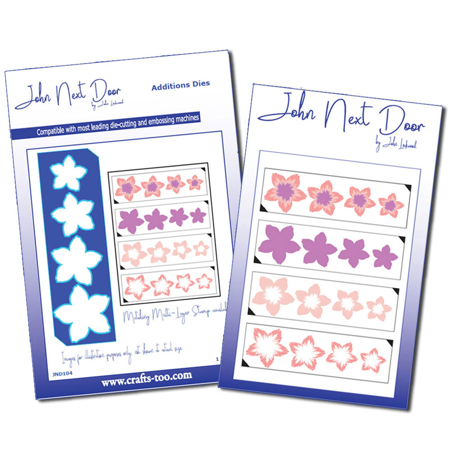 John Next Door Die - Multilayer Calypso Flower Stamp and Die Set