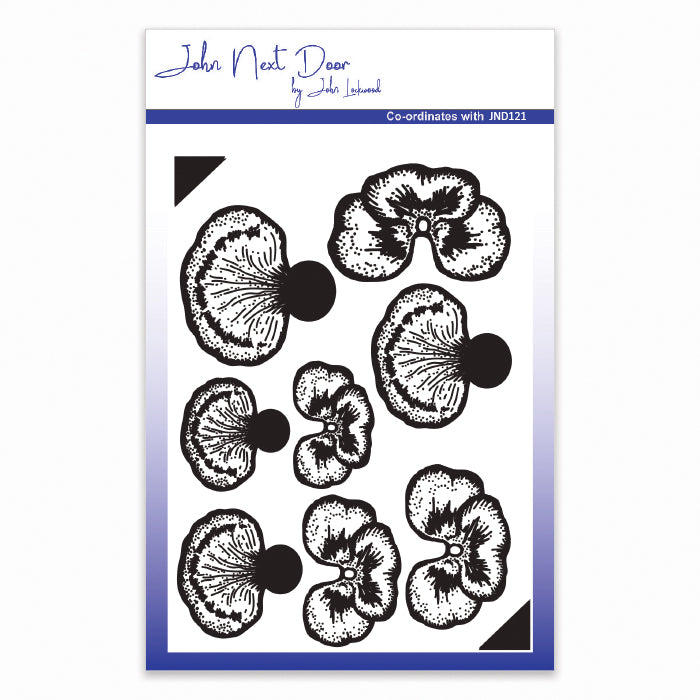 John Lockwood Clear Stamp - Pansy JND122