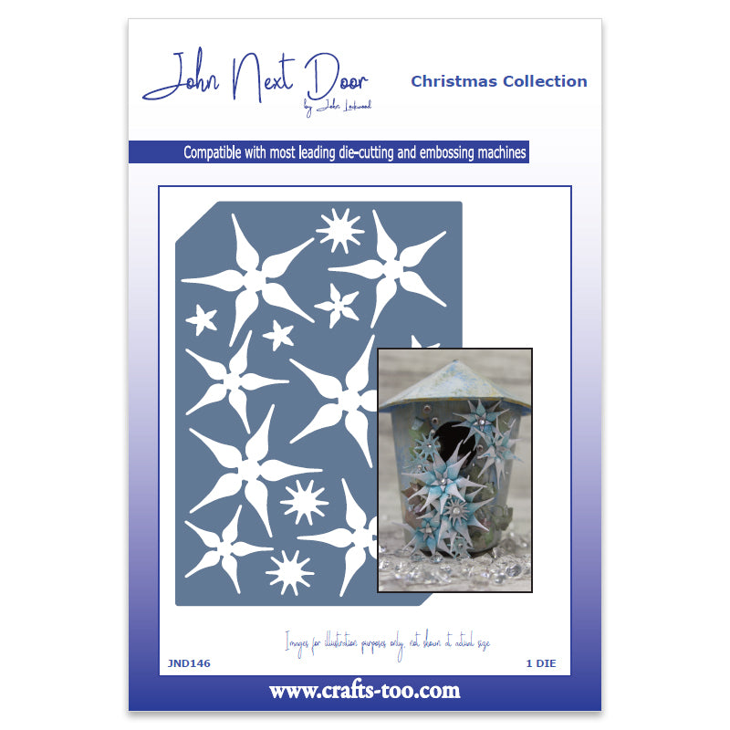 John Next Door Die - Christmas Dies - Starflower Plate - JND146