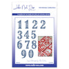 John Next Door Die - Christmas Dies - Advent Numbers (12pcs) - JND148