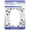 John Next Door Embossing Folder - Snowflake Swirl