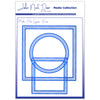 John Next Door Media Dies - Media Plate Square Frame (9pcs) - JNDMM005