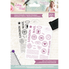 Sara Signature Collection - Letters From The Heart - A6 Acrylic Stamp - Classic Postmarks