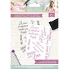 Sara Signature Collection - Letters From The Heart - A6 Acrylic Stamp - Loving Sentiments
