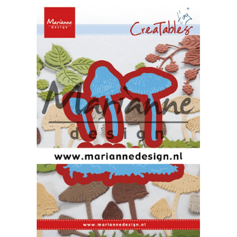 Marianne Creatables Die - Tinys Mushrooms - LR0623