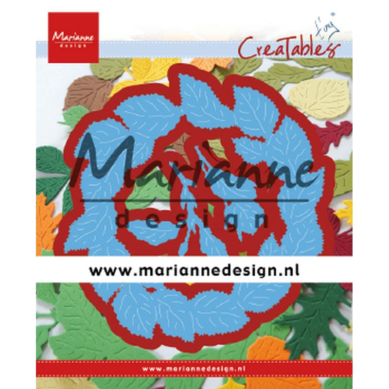 Marianne Creatables Die - Tinys Leaves Wreath - LR0624