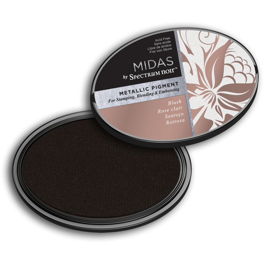 Spectrum Noir Inkpad - Midas Metallic (Blush)