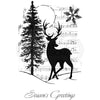 Woodware Clear Singles - Musical Deer - JGS727