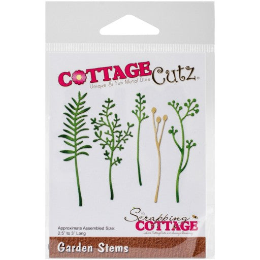 Cottage Cutz Die - Garden Stems - CC-141