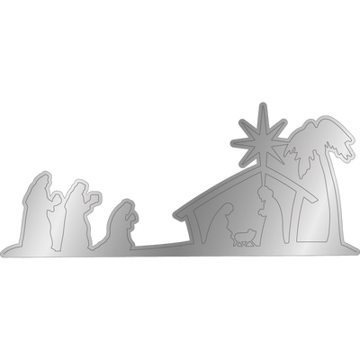 Nature's Garden - Nativity - Die - Three Kings