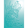 Nature's Garden - Peacock Collection - 5 x 7 3D Embossing Folder - Regal Peacock