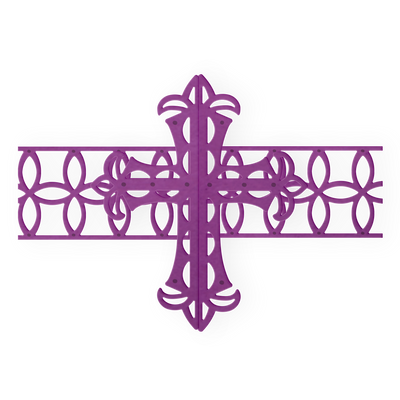 Gemini Die by Crafters Companion - Elements - Ornate Cross