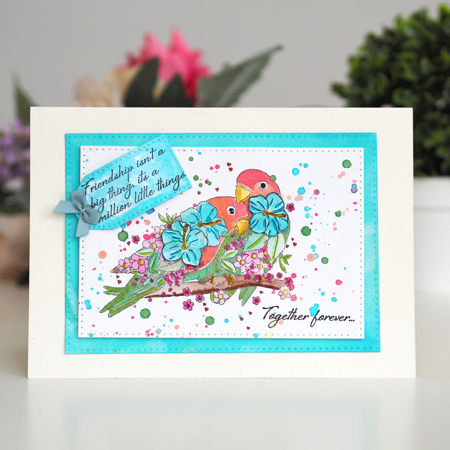 Creative Expressions Stamp - Designer Boutique Collection - Together Forever