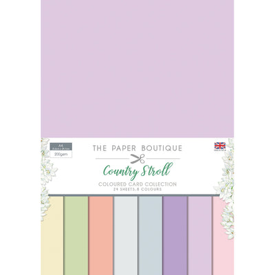 The Paper Boutique - Country Stroll Colour Card Collection - PB1124