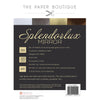 The Paper Boutique - Splendorlux Mirror Card A4 Pad