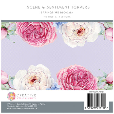 The Paper Boutique - Springtime Blooms 5x5 Sentiments Pad