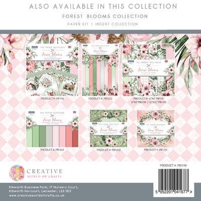 The Paper Boutique - Forest Blooms - 8x8 Paper Pad - PB1198