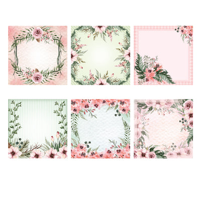 The Paper Boutique - Forest Blooms - 7x7 Panel Pad - PB1201
