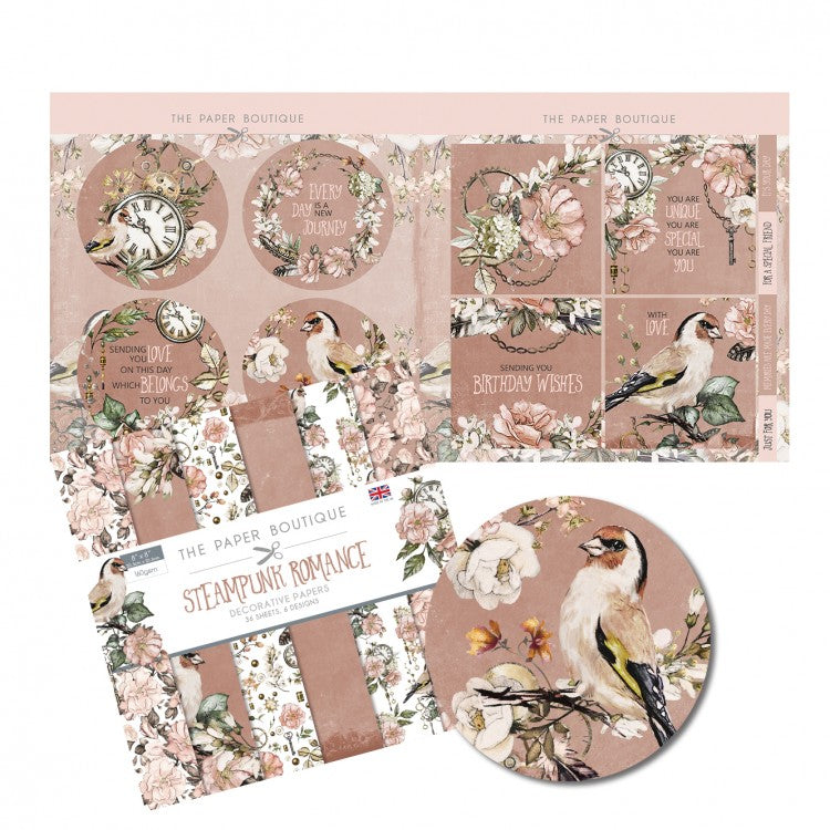 The Paper Boutique - Steampunk Romance - Paper Kit