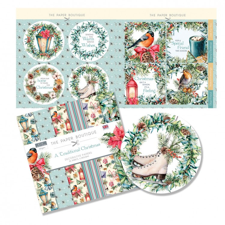 The Paper Boutique - A Traditional Christmas - Paper Kit