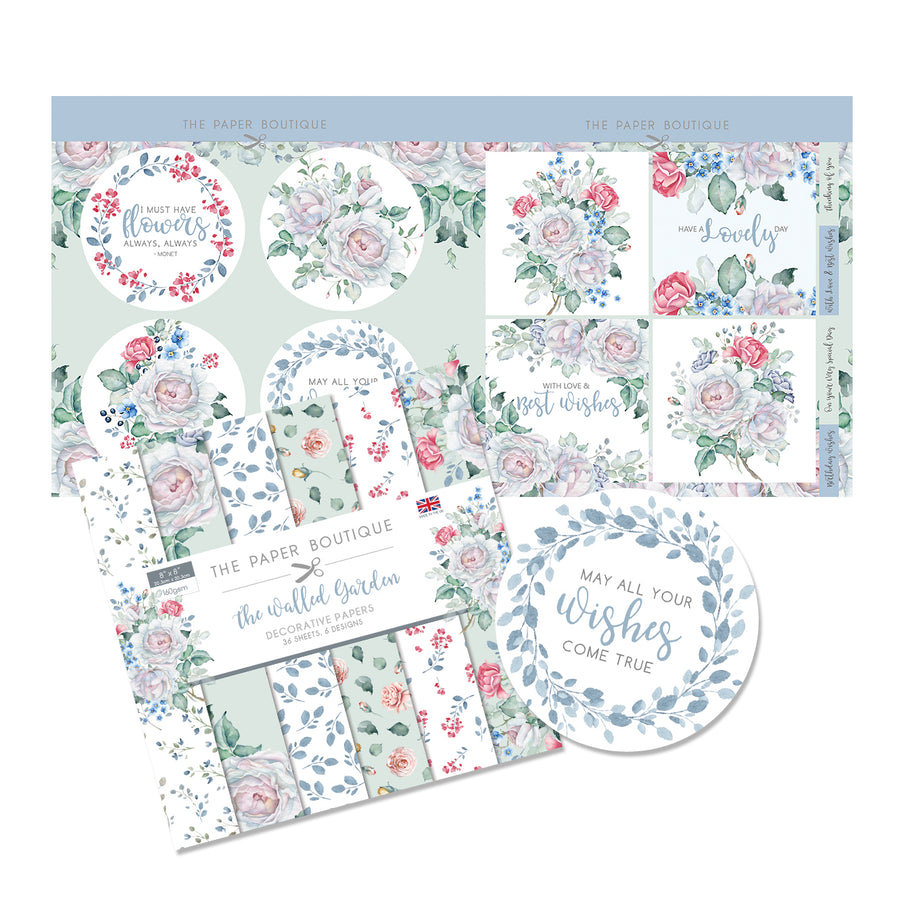 The Paper Boutique - The Walled Garden - Paper Kit - PB1287
