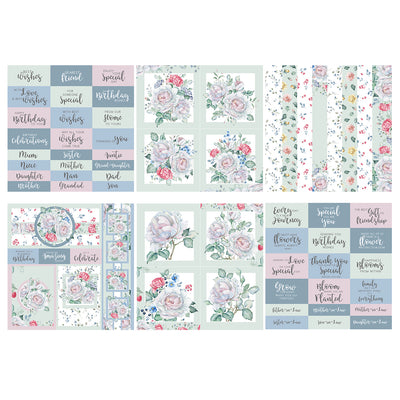 The Paper Boutique - The Walled Garden - 8x8 Embellishments Pad - PB1289