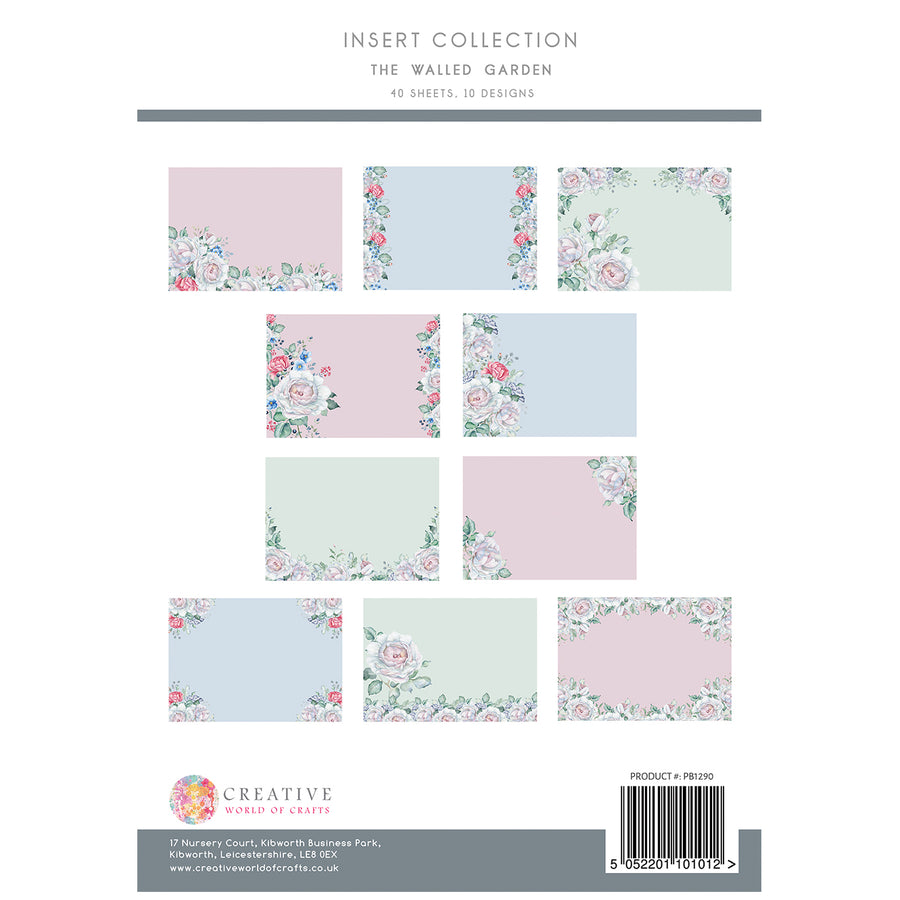 The Paper Boutique - The Walled Garden - Insert Collection - PB1290