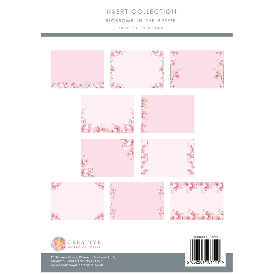 The Paper Boutique - Blossoms in the Breeze - Insert Collection - PB1295