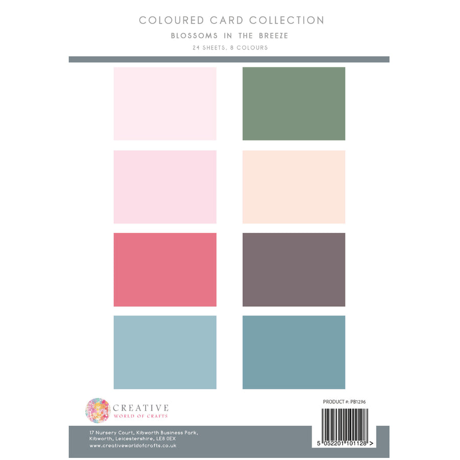 The Paper Boutique - Blossoms in the Breeze - Colour Card Collection - PB1296