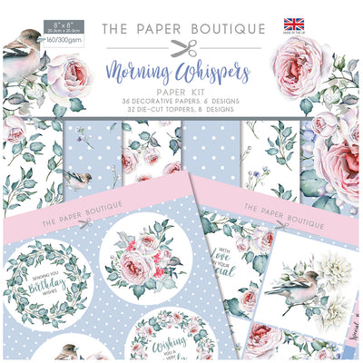 The Paper Boutique Morning Whispers Paper Kit