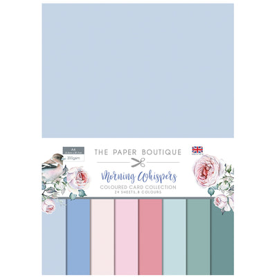The Paper Boutique Morning Whispers Colour Card Collection