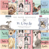 The Paper Boutique - It's a Dog's Life - 8x8 Embellishments Pad