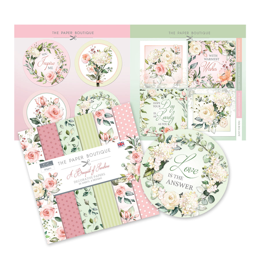 The Paper Boutique - A Bouquet of Sunshine - Paper Kit