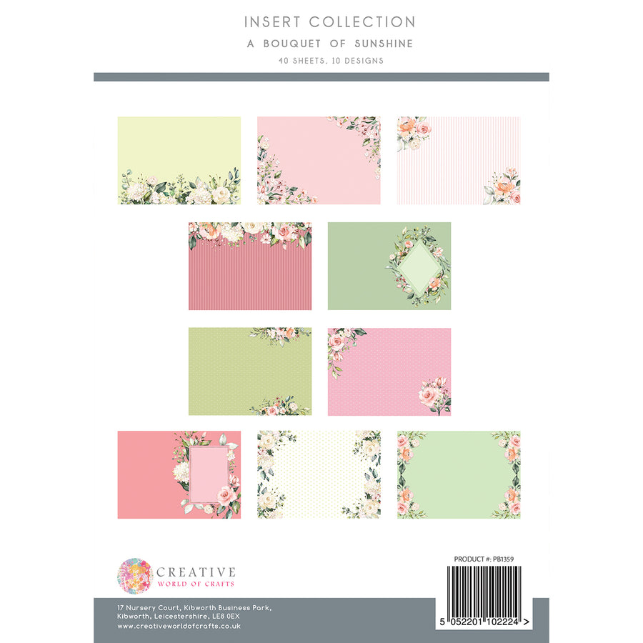 The Paper Boutique - A Bouquet of Sunshine - Insert Collection