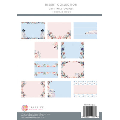 The Paper Boutique - Christmas Cuddles - Insert Collection