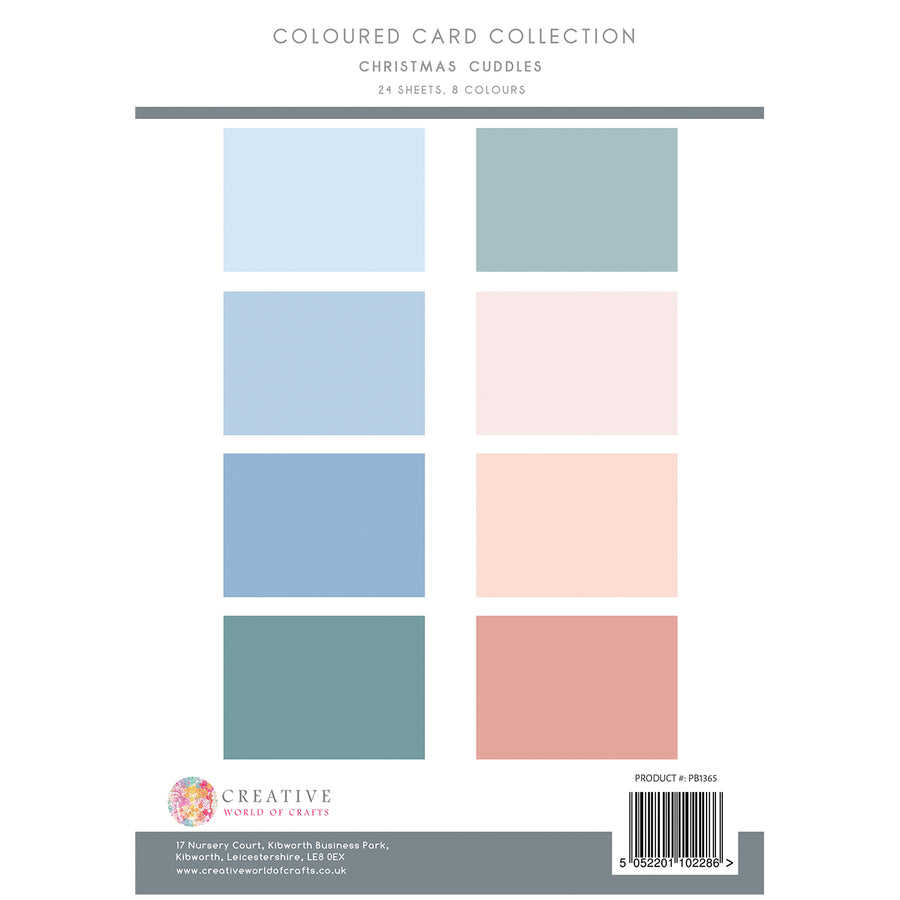 The Paper Boutique - Christmas Cuddles - Colour Card Collection