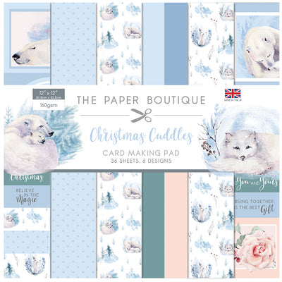 The Paper Boutique - Christmas Cuddles - 12x12 Card Making Pad