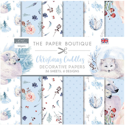 The Paper Boutique - Christmas Cuddles - 6x6 Paper Pad