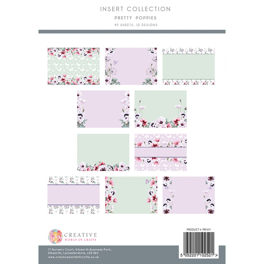 The Paper Boutique - Pretty Poppies - Insert Collection