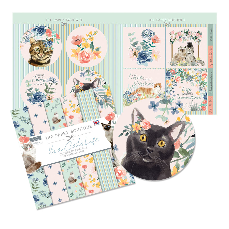The Paper Boutique - It's a Cat's Life - Paper Kit