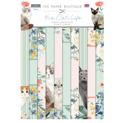 The Paper Boutique - It's a Cat's Life - Insert Collection