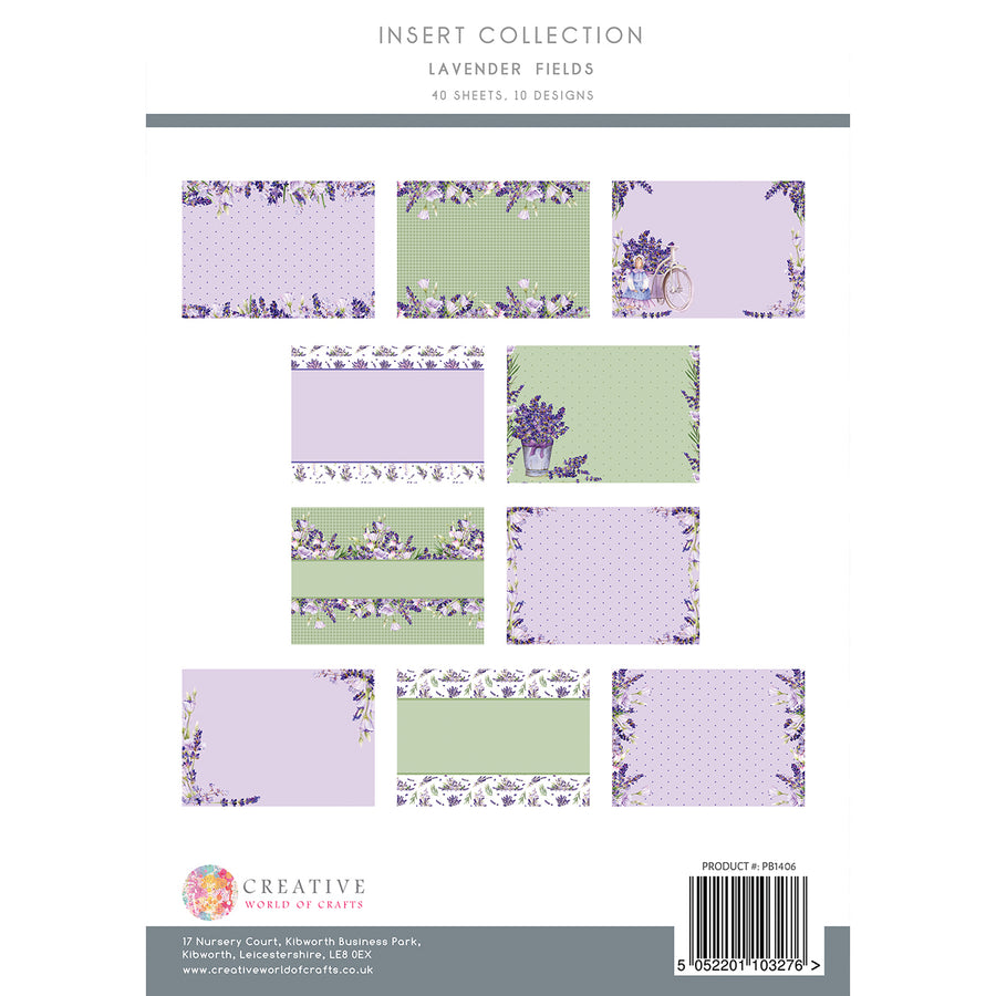 The Paper Boutique - Lavender Fields - Insert Collection