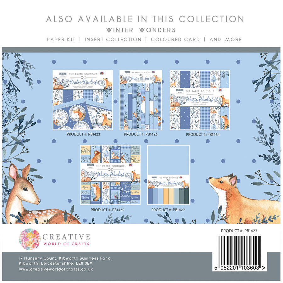 The Paper Boutique - Winter Wonders - Paper Kit