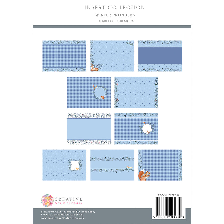 The Paper Boutique - Winter Wonders - Insert Collection