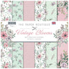 The Paper Boutique - Vintage Blooms - 8 x 8 Paper Pad